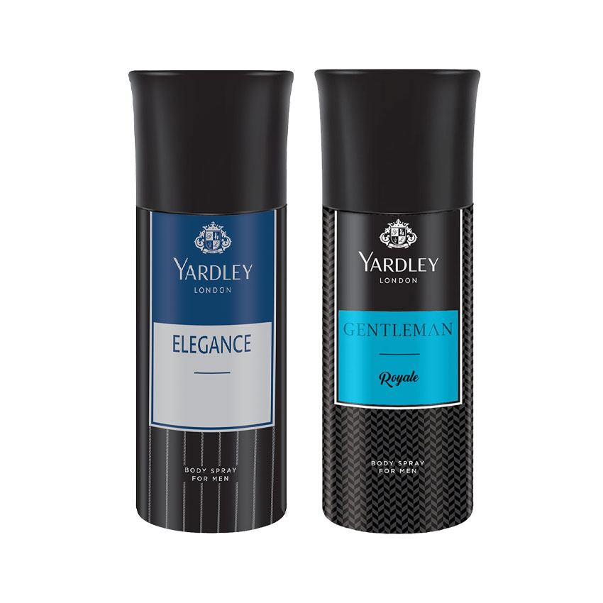Yardley London Elegance, Gentleman Royale Set of 2 Deodorants