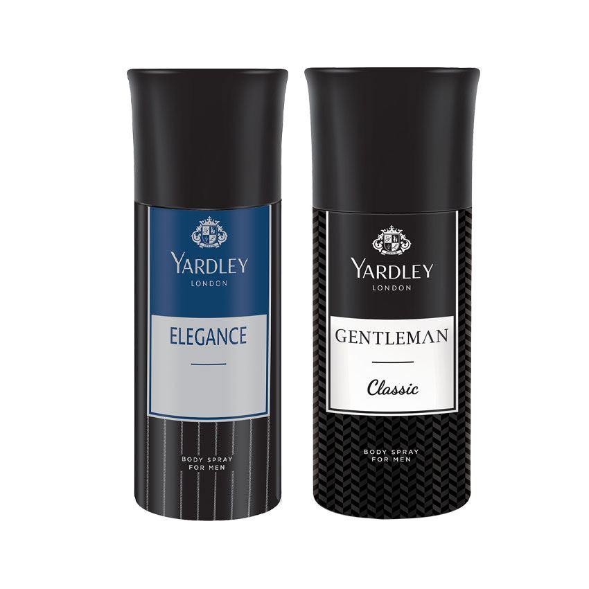 Yardley London Elegance, Gentleman Set of 2 Deodorants