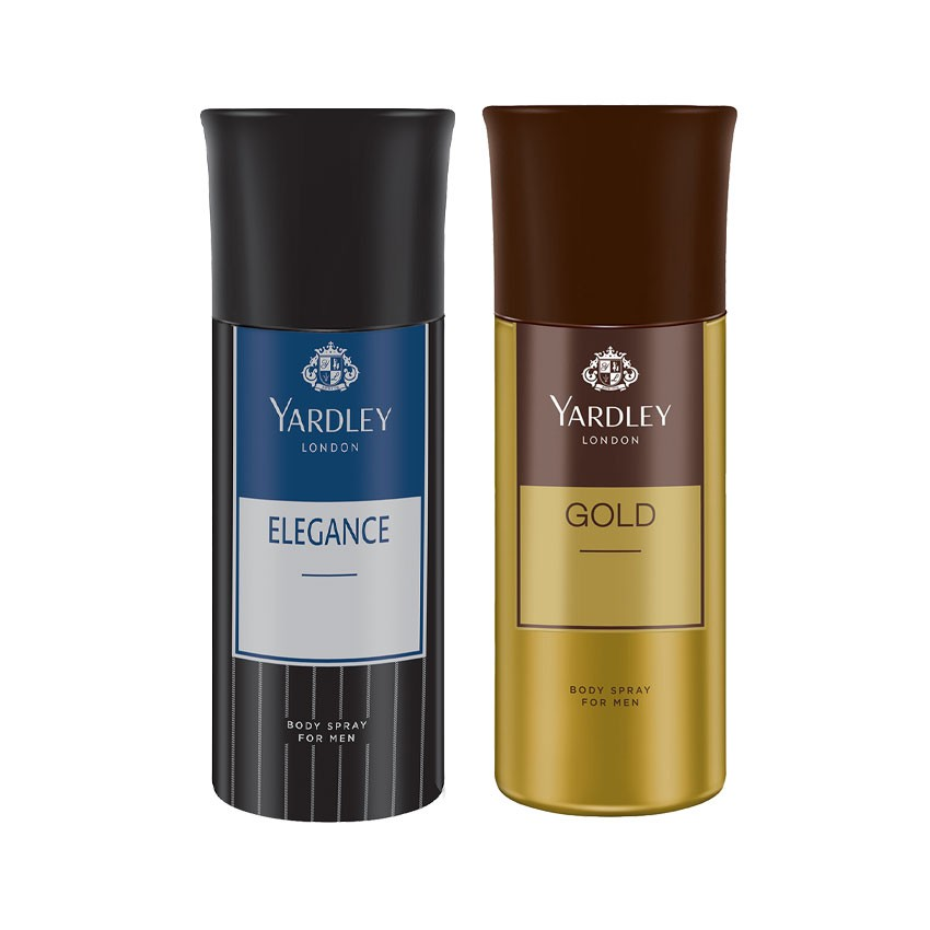 Yardley London Elegance, Gold Set of 2 Deodorants