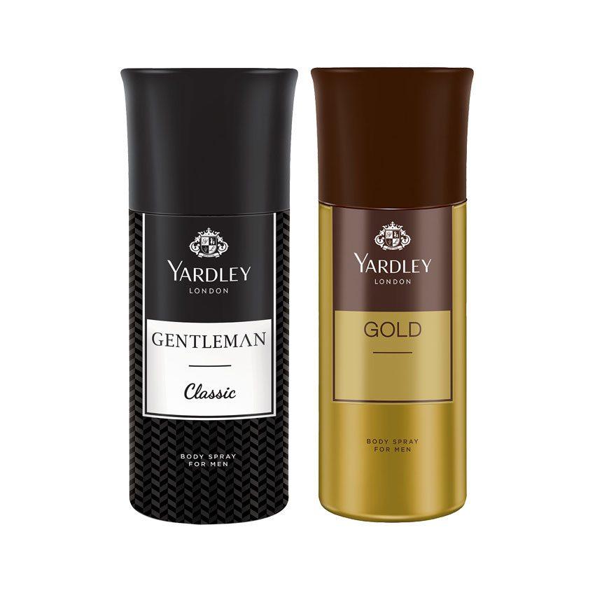 Yardley London Gentleman, Gold Set of 2 Deodorants