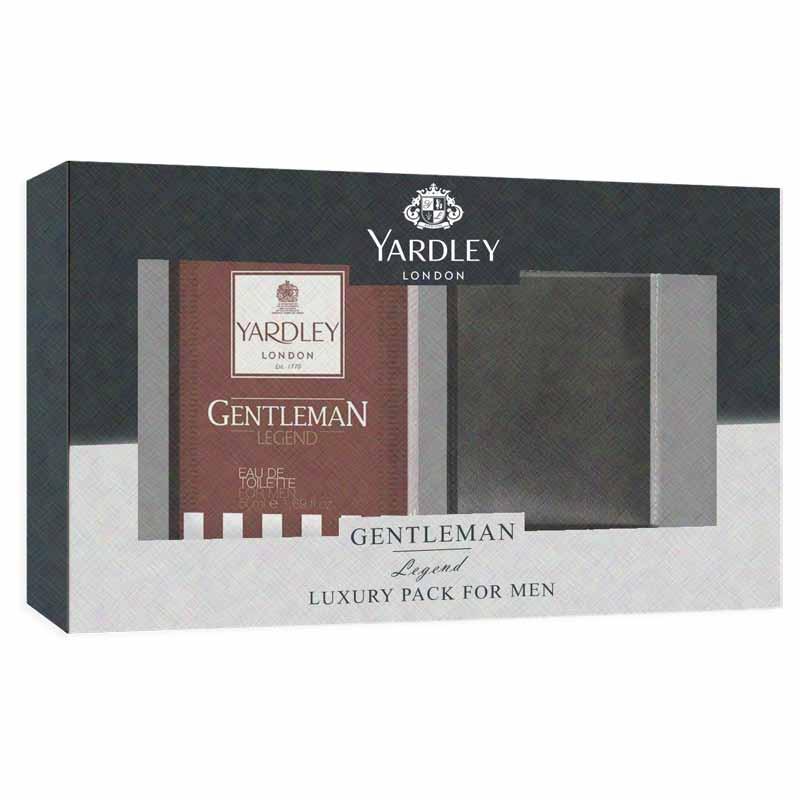 Yardley London Gentleman Legend Perfume And Wallet Luxury Gift Set