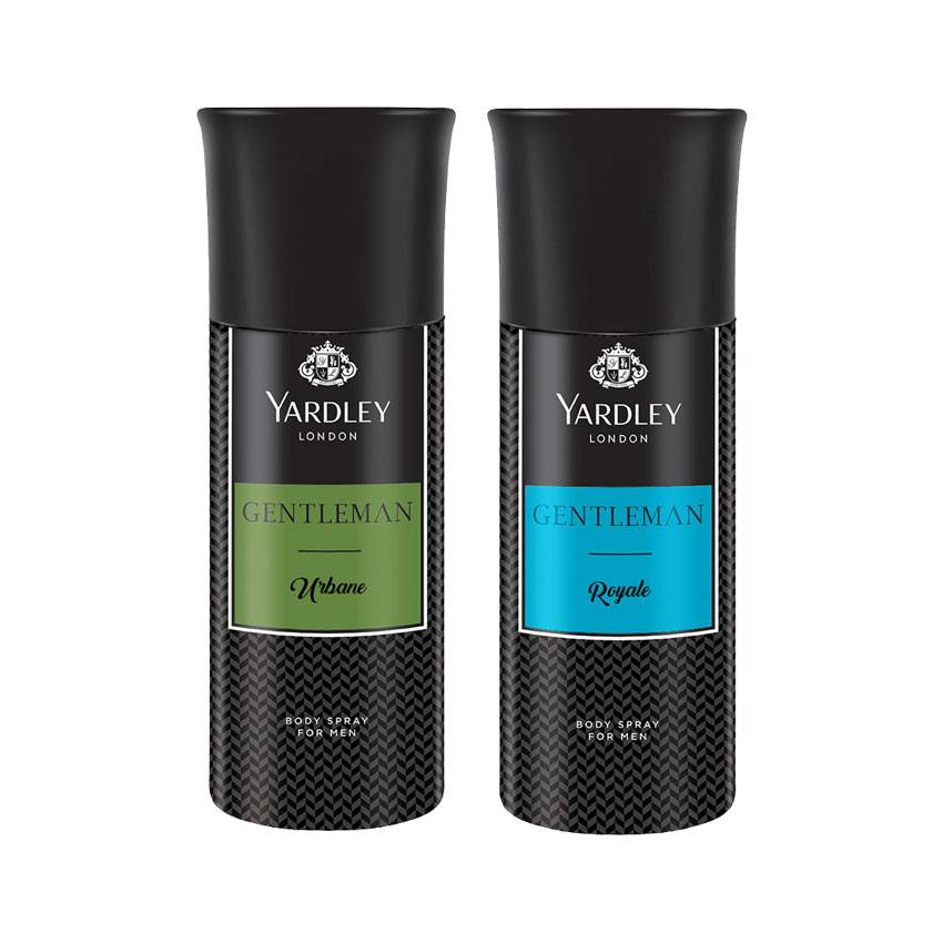 Yardley London Gentleman Urbane, Gentleman Royale Set of 2 Deodorants