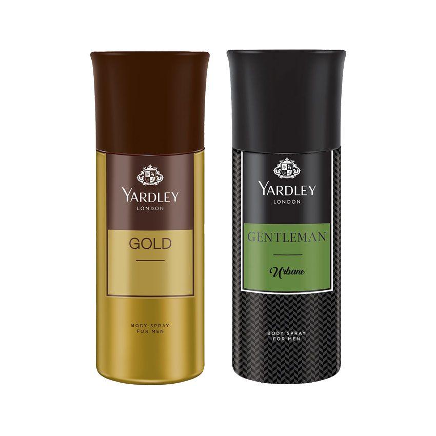 Yardley London Gold, Gentleman Urbane Set of 2 Deodorants