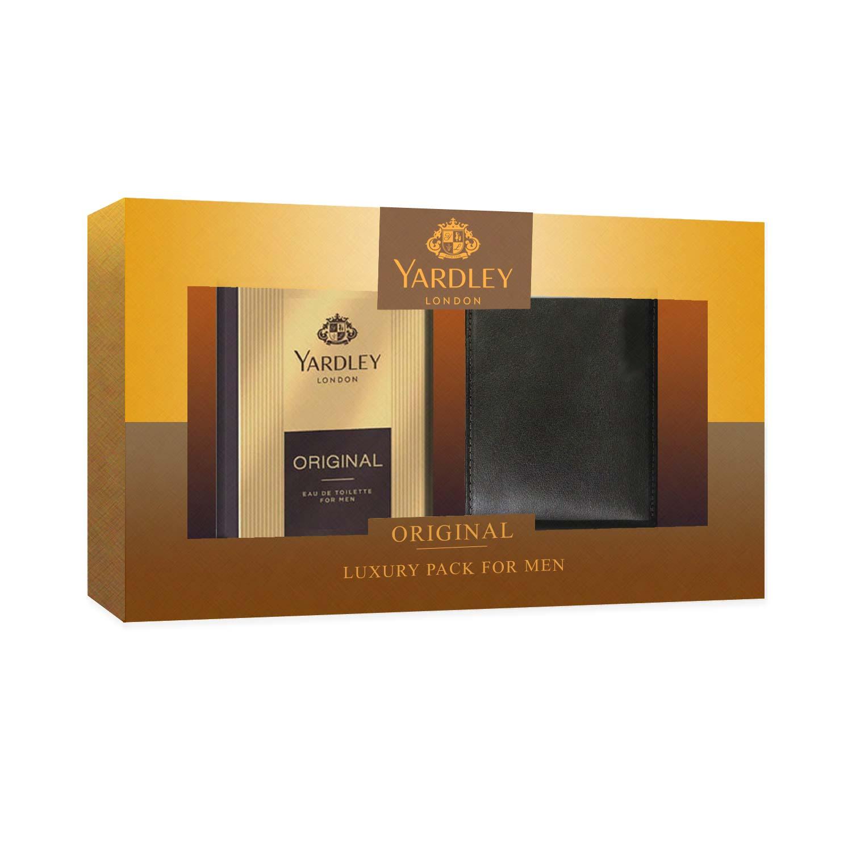 Yardley London Original Perfume And Wallet Luxury Gift Set