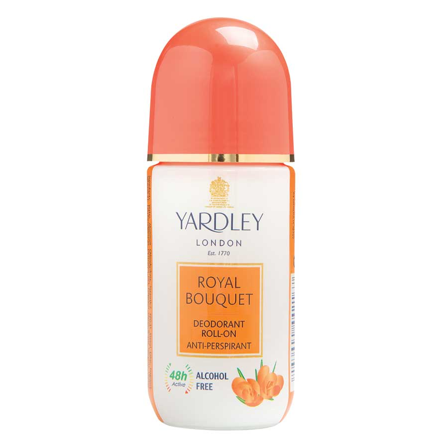 Yardley London Royal Bouquet Anti Perspirant Deodorant Roll On