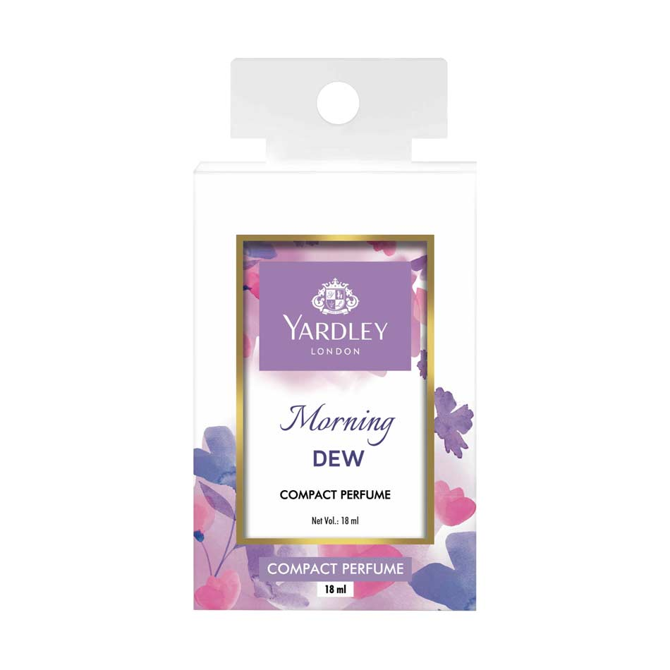 Yardley London Morning Dew Compact Pocket Perfume