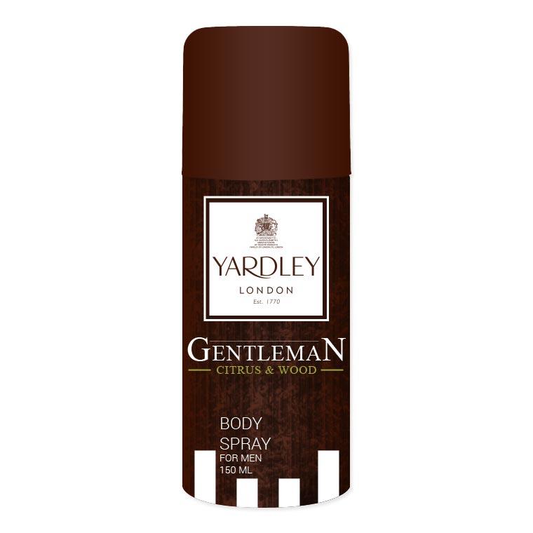 Yardley London Gentleman Citrus And Wood Deodorant Spray