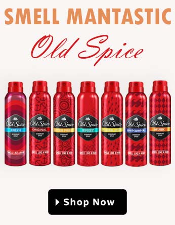 old spice banner