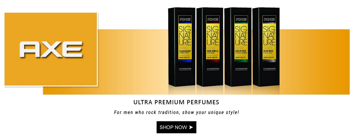 Axe Signature gold perfumes for men, axe perfume new collection, men perfumes online India