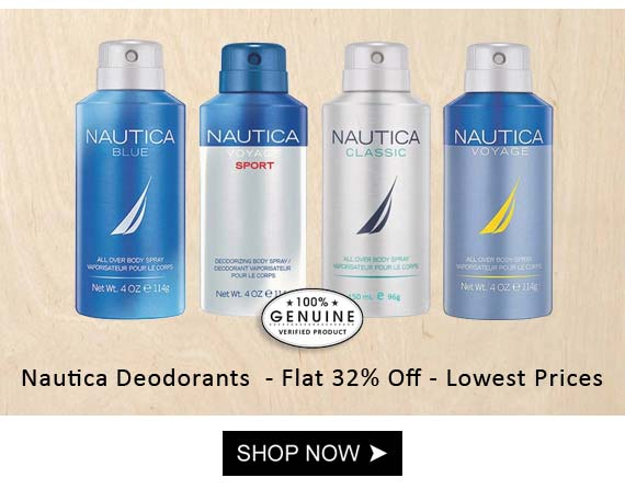 nautica deodorants for men