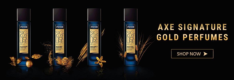perfumes by axe, axe gold signature perfumes