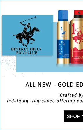 BHPC gold edition deodorants for men and women