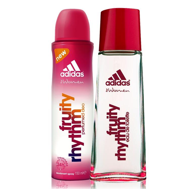 Adidas Fruity Rhythm Perfume And Deodorant Combo