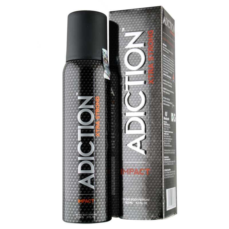 Adiction Xtra Strong Impact No Gas Deodorant