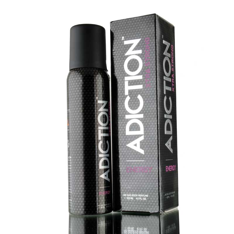 Adiction Xtra Strong Energy No Gas Deodorant