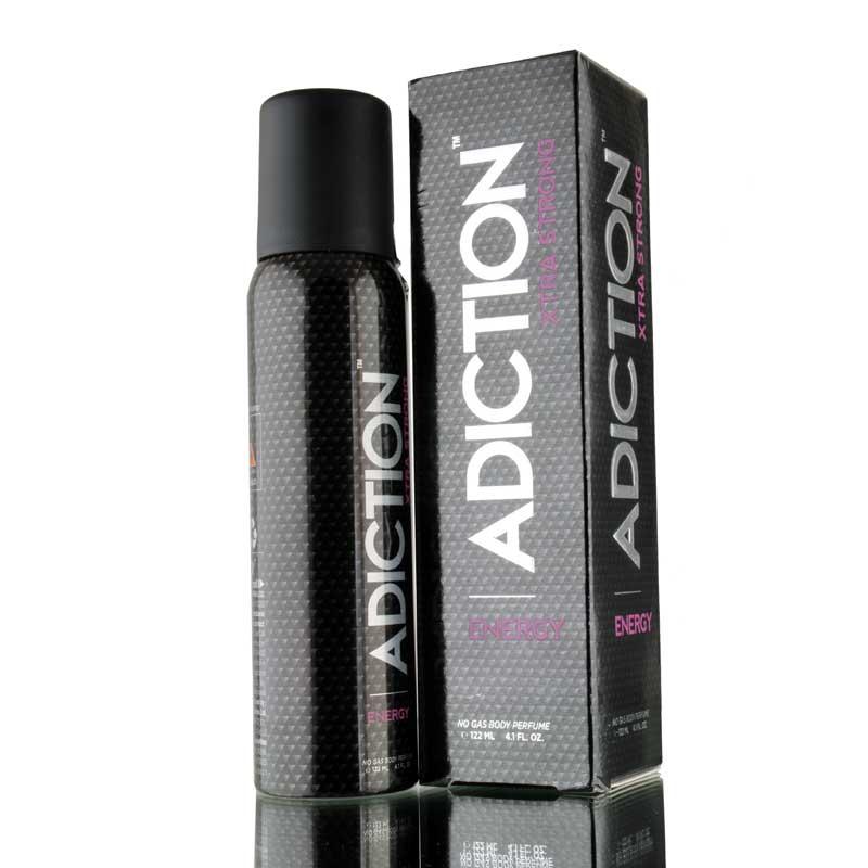 Adiction Xtra Strong Energy No Gas Deodorant