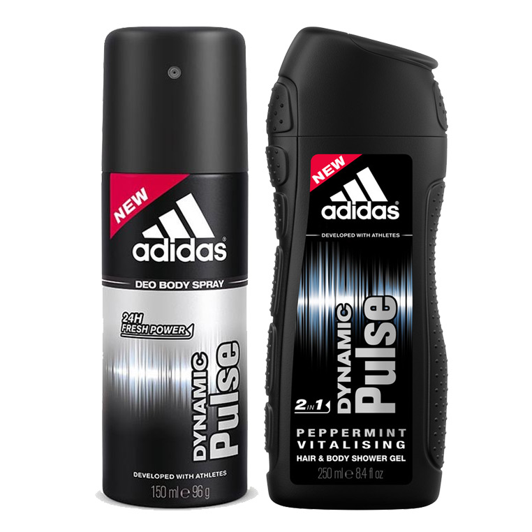 Adidas Dynamic Pulse Combo Of Shower Gel And Deodorant