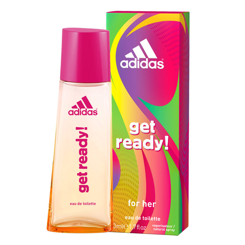 Adidas Perfume Women: Buy Online Adidas Get Ready EDT Perfume Spray For Women Online @ Rs. 549 By Adidas : DeoBazaar.com