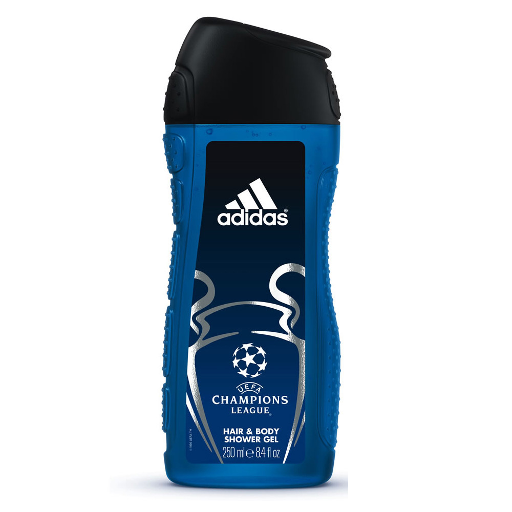Adidas UEFA Champions League 2in1 Hair And Body Shower Gel