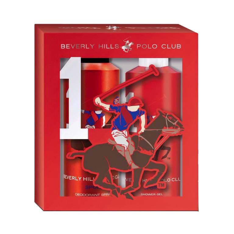 BHPC Sport No 1 Deo And Shower Gel 2 Piece Giftset