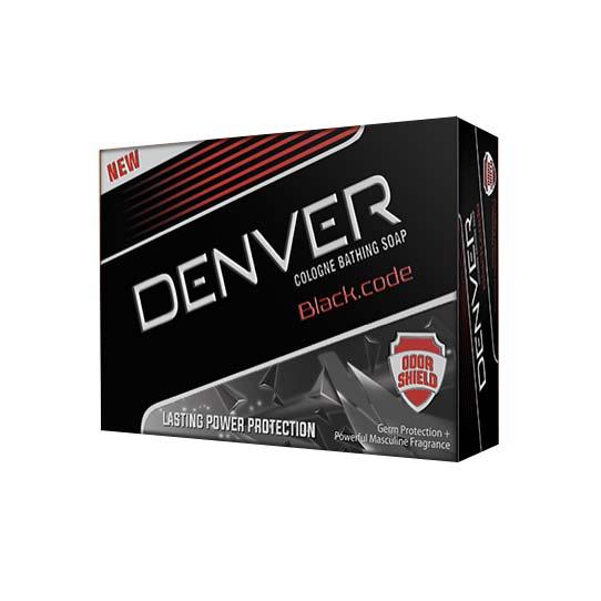 Denver Black Code Cologne Bathing Soap