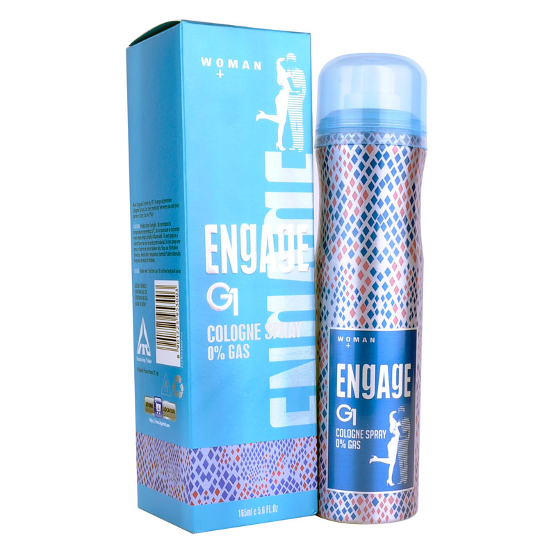 Engage G1 No Gas Deo Cologne