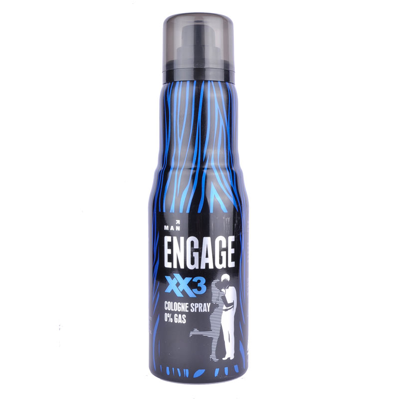 Engage XX3 No Gas Deo Cologne