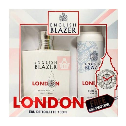 English Blazer London Perfume And Deodorant Giftset