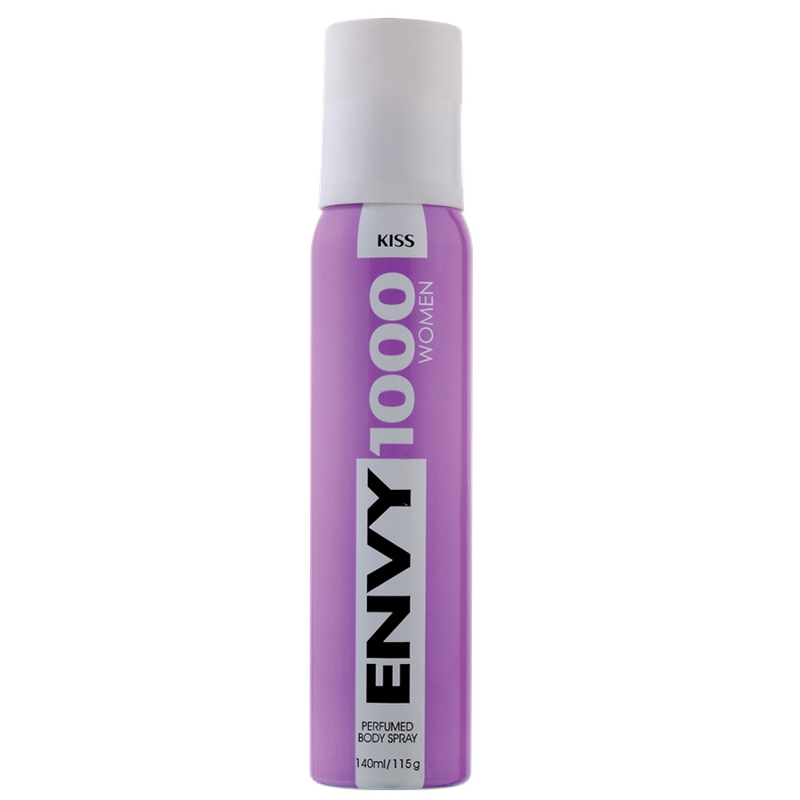 Envy 1000 Kiss Deodorant Spray