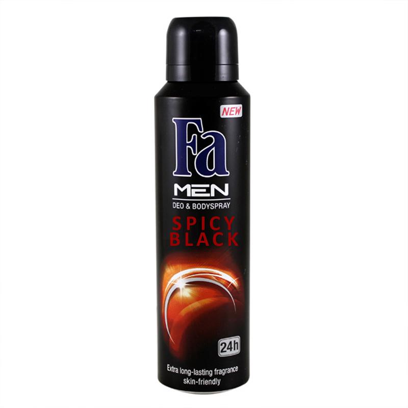 Fa Spicy Black Deodorant Spray