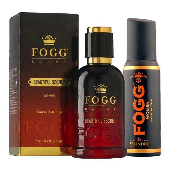 Fogg Beautiful Secret Eau De Parfum And Splendid Deodorant Combo