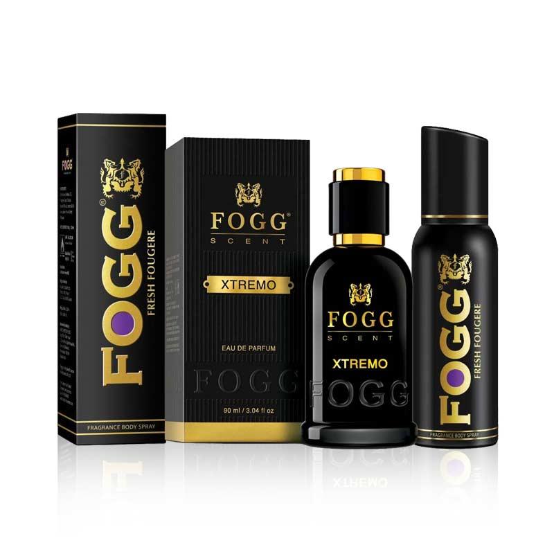 Fogg Extremo Eau De Parfum And Fougere Deodorant Combo