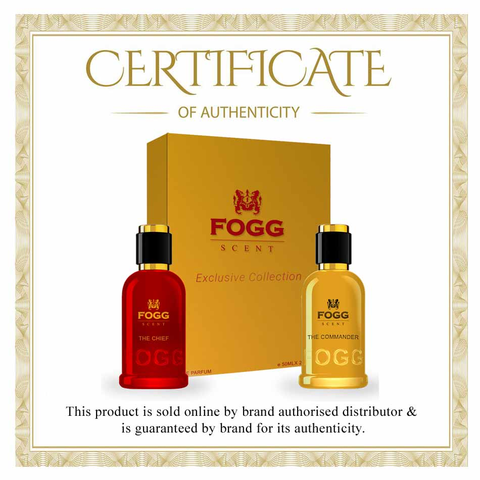 Fogg Scent The Commander And The Chief Gift Set