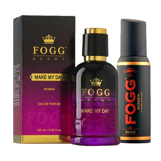 Fogg Make My Day Eau De Parfum And Bold Deodorant Combo