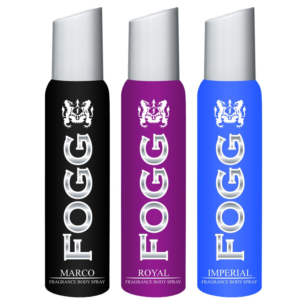 Fogg Marco, Royal, Imperial Pack of 3 Deodorants