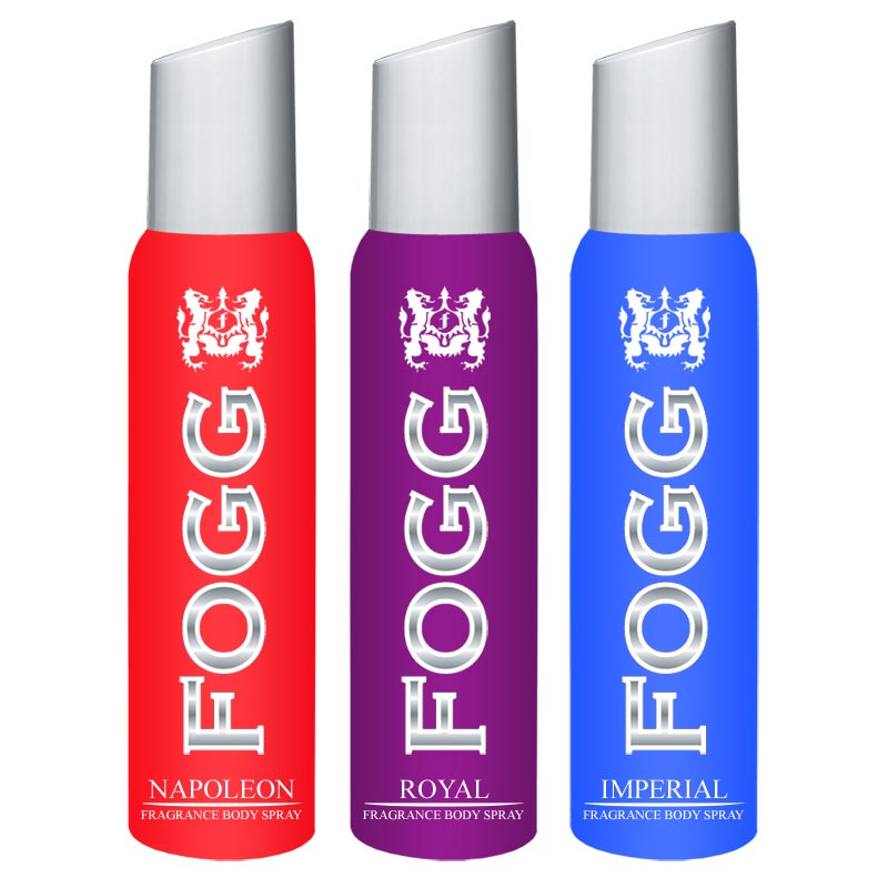 Fogg Napoleon, Royal, Imperial Pack of 3 Deodorants