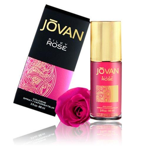 Jovan Silky Rose Cologne Spray