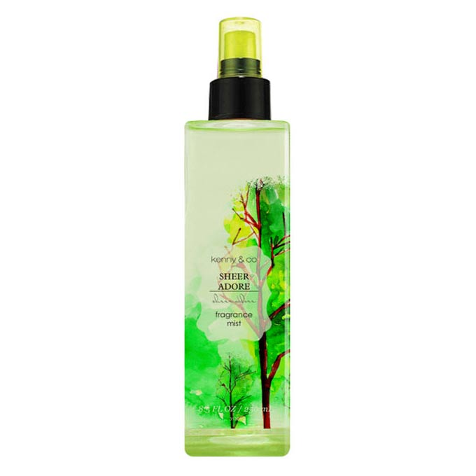 Kenny and Co. Sheer Adore Body Mist