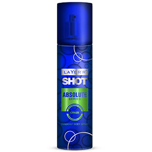 Layerr Shot Absolute Craze Deodorant