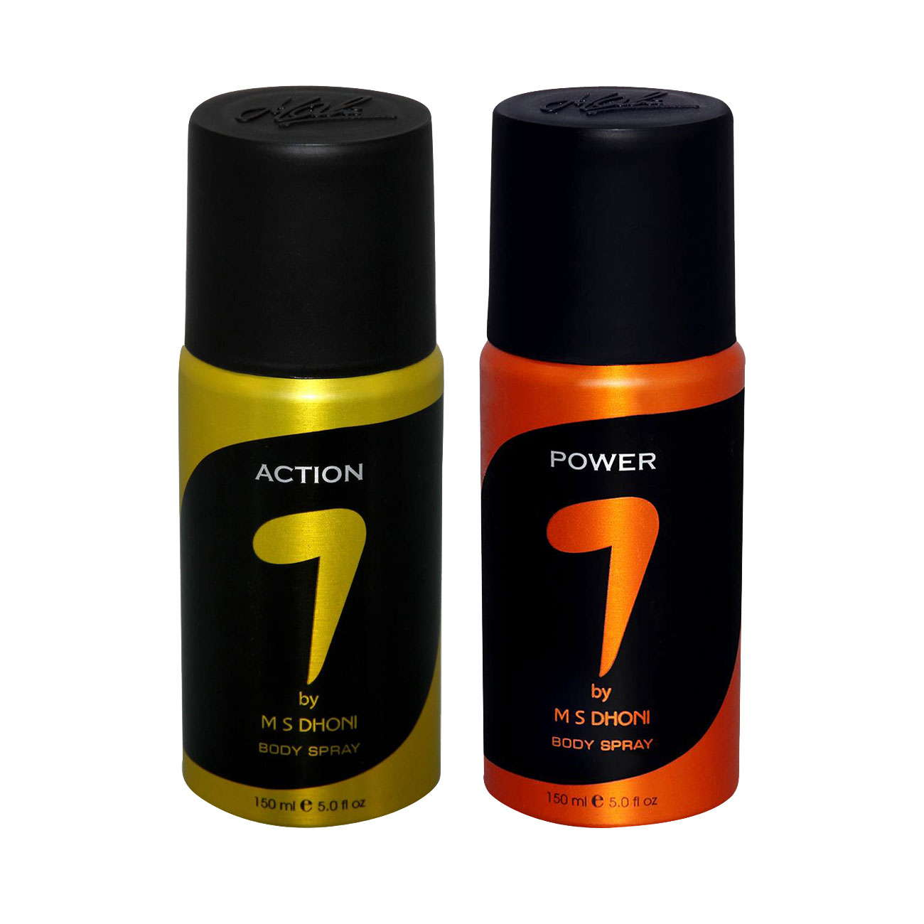 7 by MS Dhoni Action, Power  Pack of 2 Deodorants