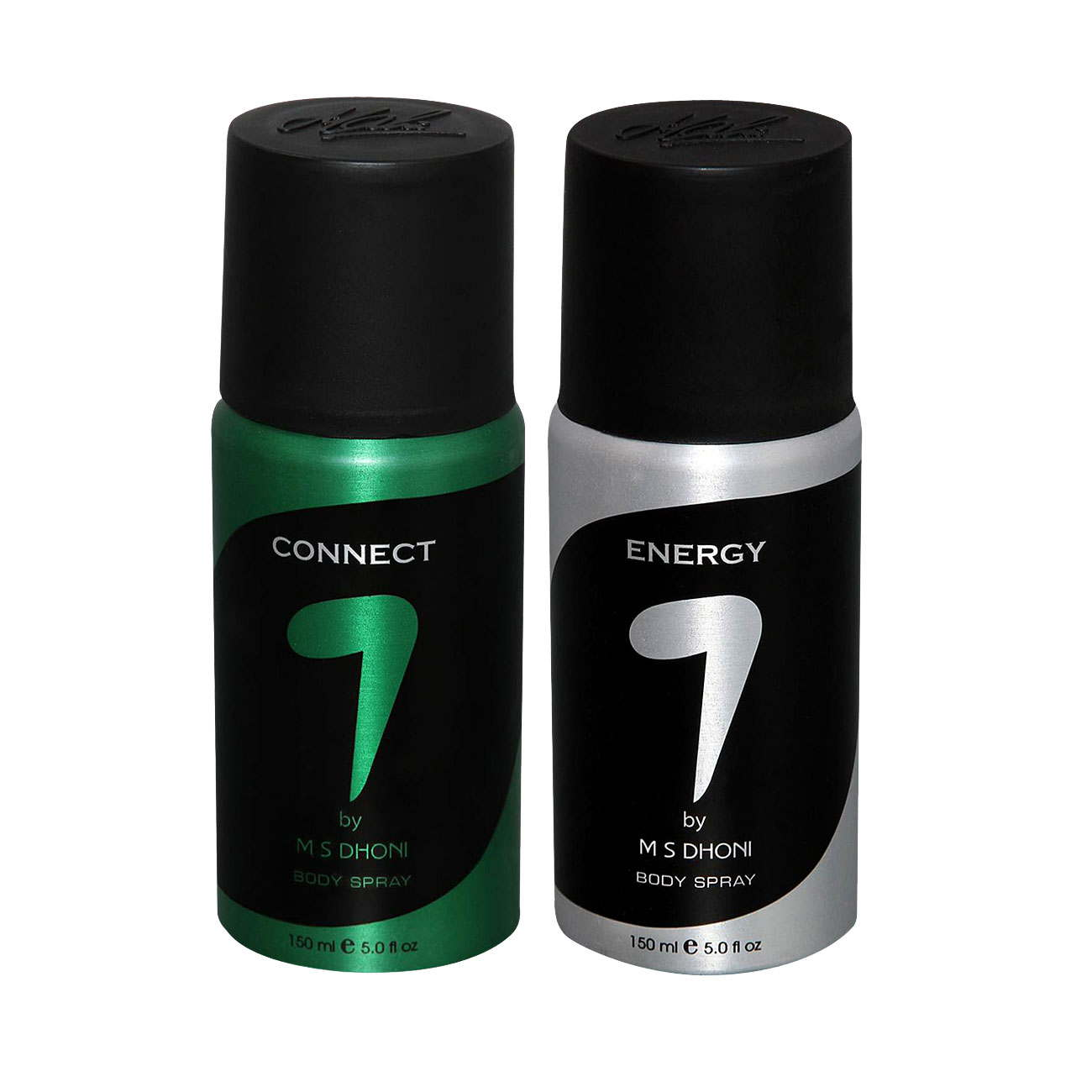 7 by MS Dhoni Connect, Energy Pack of 2 Deodorants