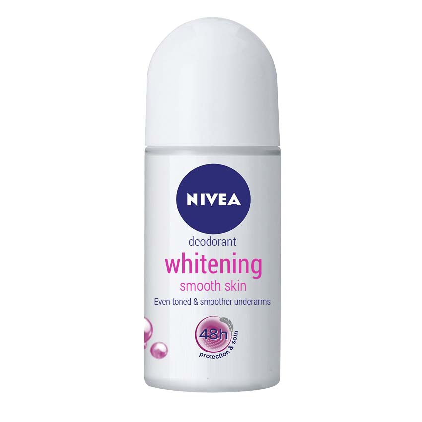 Nivea Whitening Smooth Skin Anti Perspirant Roll On Deodorant