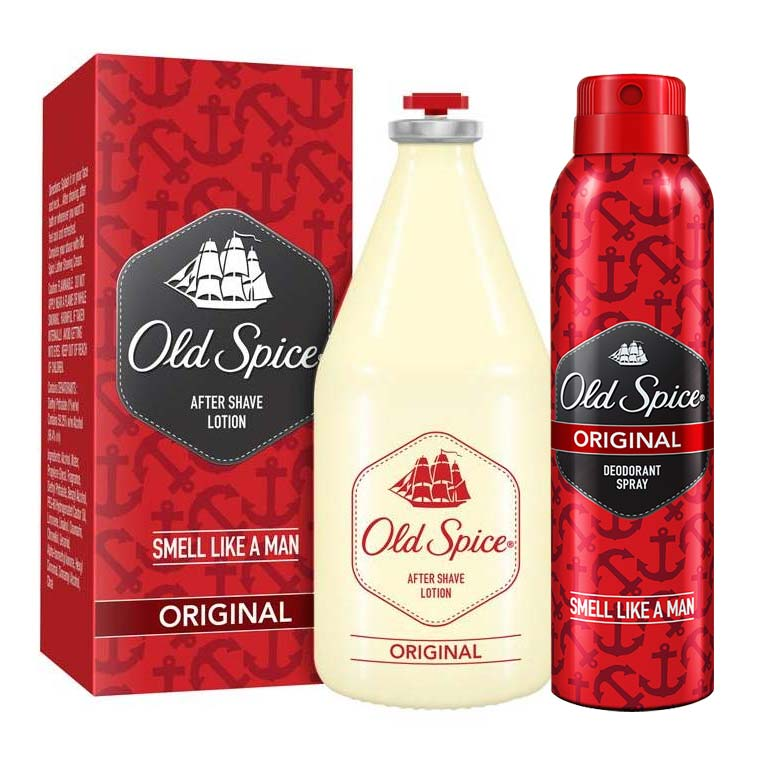 Old Spice Original Deodorant And Aftershave Combo