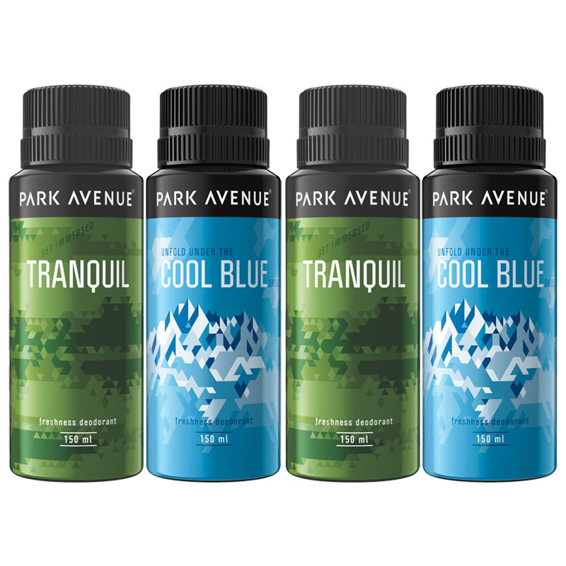 Park Avenue Value Pack of 4 Extra Strong Deodorants