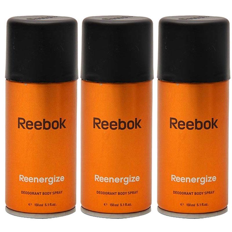 Reebok Reenergize Pack Of 3 Deodorant
