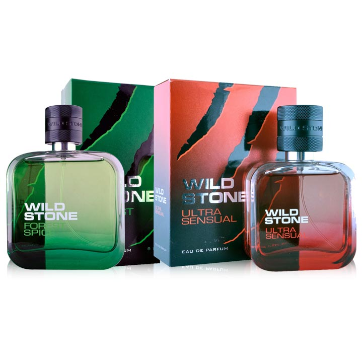 Wild Stone Forest Spice And Ultra Sensual Pack Of 2 Perfume Spray