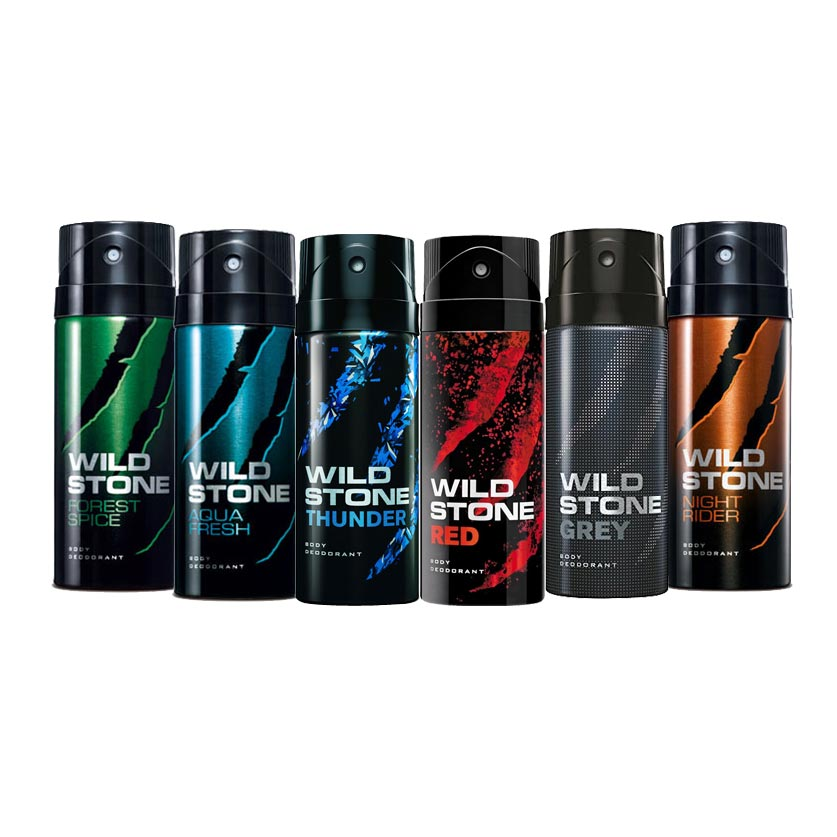 Wild Stone Super Strong Pack Of 6 Deodorants