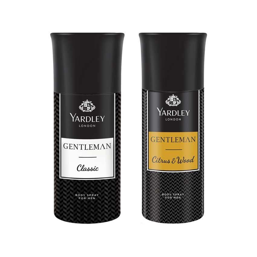 Yardley Gentleman And Gentleman Woods Pack Of 2 Deodorants