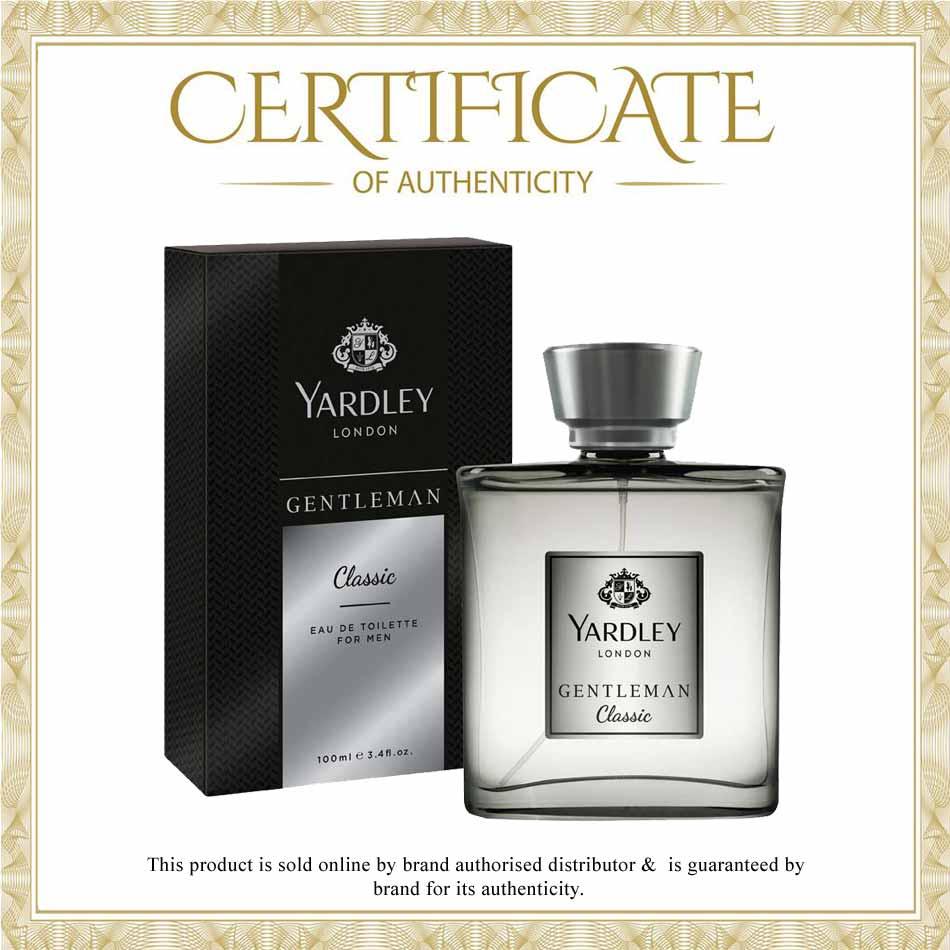 Yardley Gentleman Classic EDT Perfume Spray