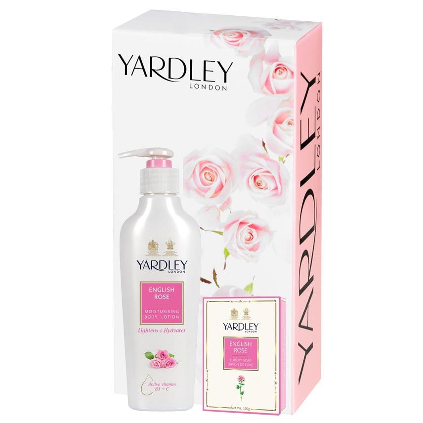Yardley London Set of Body Lotion And Fragrant Body Soap